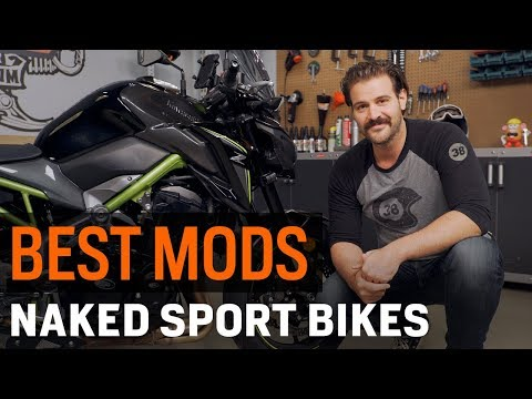 Best Naked Sport Bike Mods for Touring at RevZilla.com