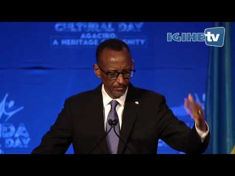 Speech of President Kagame at Rwanda Cultural Day in San Francisco