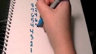 8 Times Table Trick