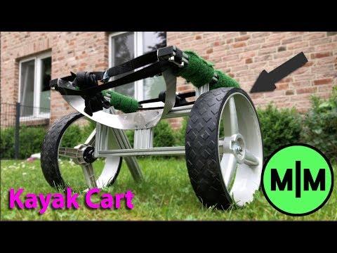 Simple DIY Kayak Cart (Homemade From Scraps!)