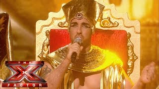 Stevi Ritchie sings Elton John's I'm Still Standing | Live Week 7 | The X Factor UK 2014