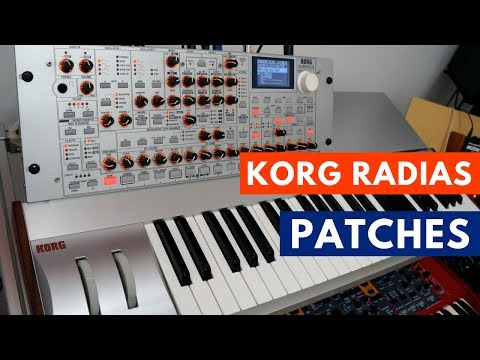 Korg Radias - 28 free custom patches