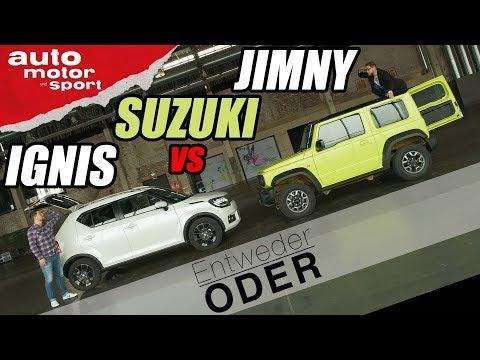 suzuki-jimny-vs-ignis-|-entweder-oder-|-(vergleich/review)-auto-motor-und-sport