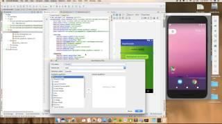 Android Studio Tutorial Shape Drawable Demo