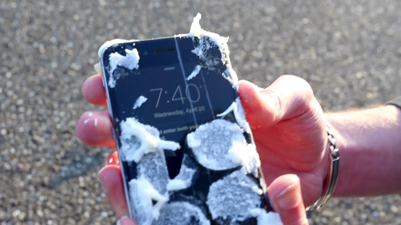 Can Marshmallows Protect IPhone From 1000 Feet Drop Test