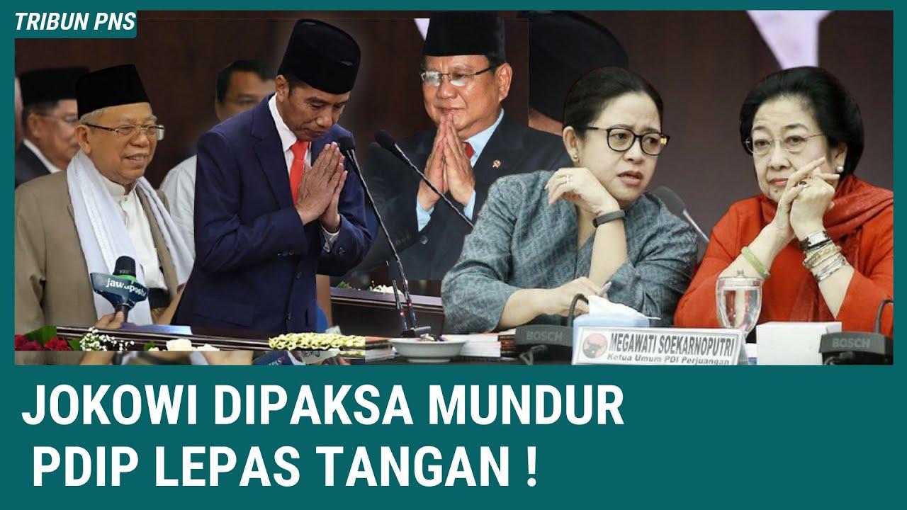 BERITA TERKINI ~ Jokowi Dipaksa Mundur, PDIP Jaga Jarak dengan Jokowi !