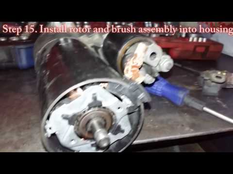 Porsche Cayenne S Starter Repair - YouTube