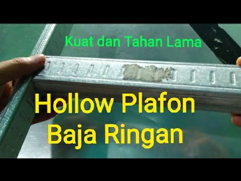 baja ringan hollow 4x4 plafon youtube