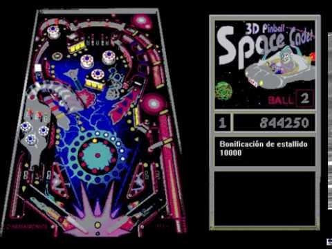 cadete espacial 3d pinball