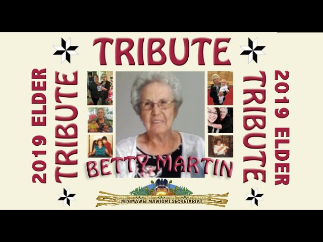 Honored Elder Tribute 2019: Betty Martin