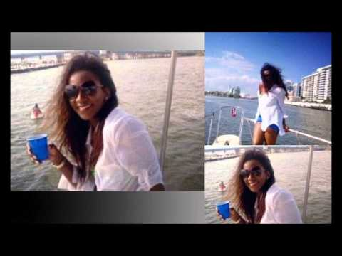 Genevieve Nnaji enjoy holiday on Miami boat cruise