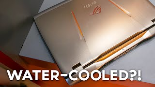 First Water-Cooled Gaming Laptop!? (ASUS ROG GX700)