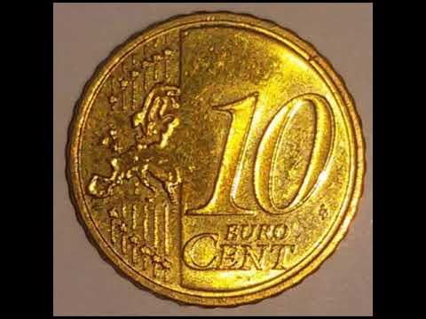 10 Cent Münze Slowenien 2007 Slovenija Euromünze Youtube