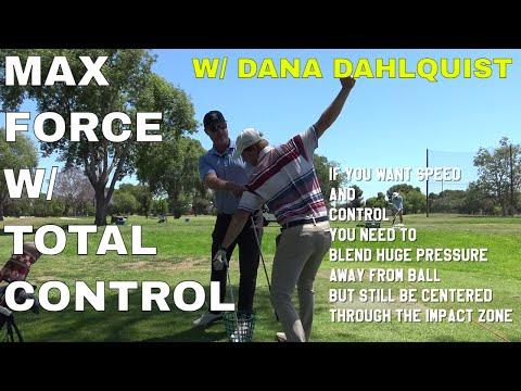 TOUR COACH DANA DAHLQUIST: FORCE must precede MOTION in GOLF! Be Better Golf