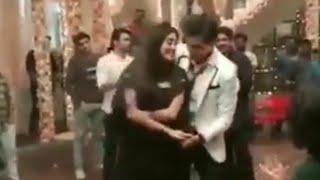 Shivangi & Mohsin Dance In YRKKH 2800 Celebration | YRKKH Offscreen 11 December 2018