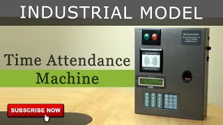 Time Attendance Machine | Biometrics Access Control System | Attendance System | Industrial Model