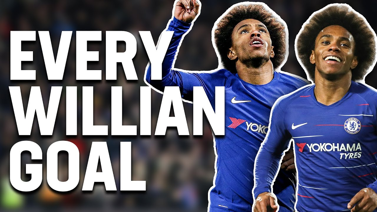 Every Willian Goal in The FA Cup! | From The Archive