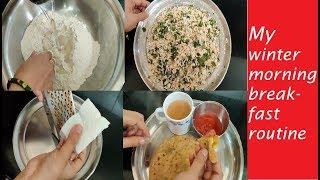 पनीर का पराठा बनाने का सबसे आसान तरीका।Paneer Paratha Recipe