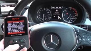 iCarsoft i980 SRS Airbag Light Reset Mercedes B Class W246