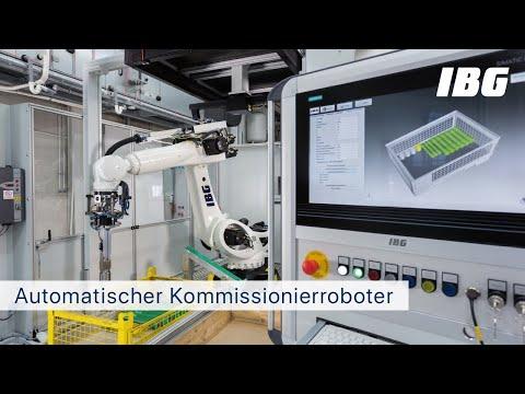 IBG – Automatischer Kommissionierroboter by IBG Automation