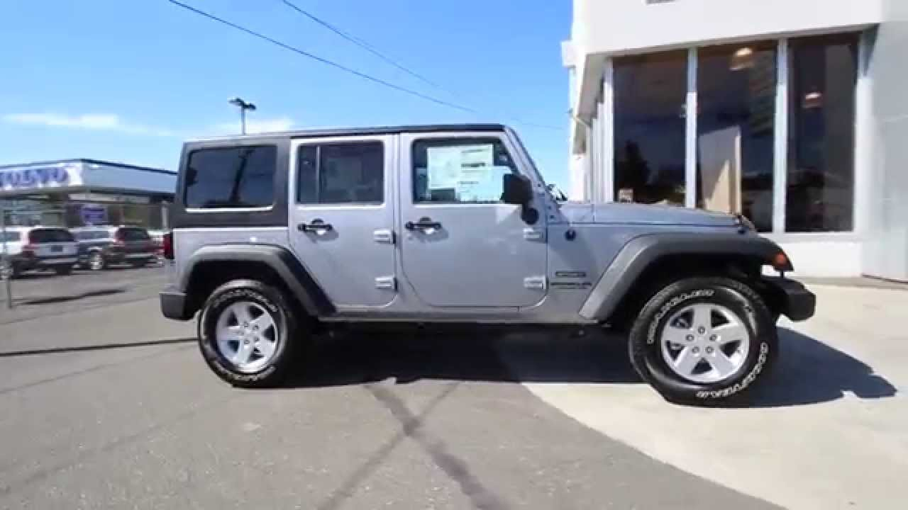 2015 jeep wrangler unlimited sport billet silver metallic fl694120 mt vernon skagit
