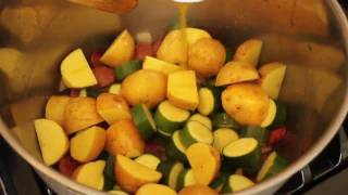Food Wishes Recipes - Sausage, Zucchini, Potato Stew Recipe - How To Make Sausage Vegetable Stew