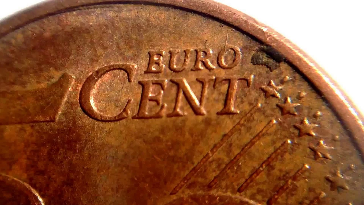 Portugal 5 Euro Cent Macro Video Youtube