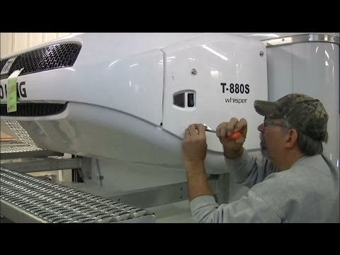 Thermo King Installation: Battery, Fuel Line and Door Switch