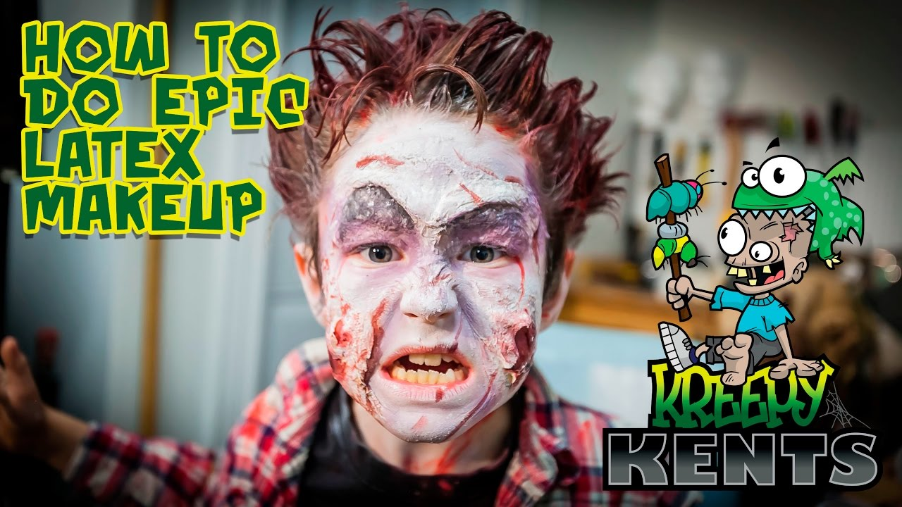 How To Use Latex Do Zombie Makeup