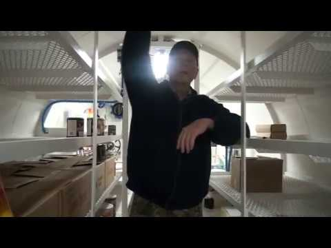 Man Shows Off his Underground Shelter  to Survive a Economic Collapse, Solar Flare, or WW3