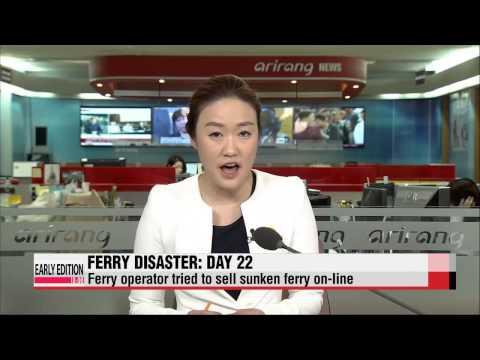 Korean ferry disaster: Day 22