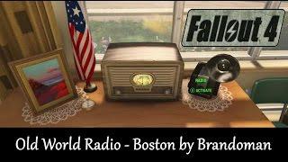 Fallout 4 Mod Showcase: Old World Radio Boston by Brandoman