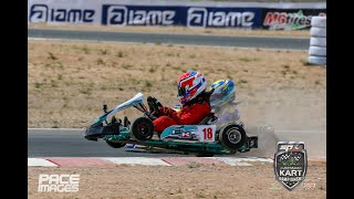Cadet 12 - On Board Action - Australian Karting Championship 2020