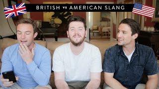 British vs American Slang - w/ Vagabrothers