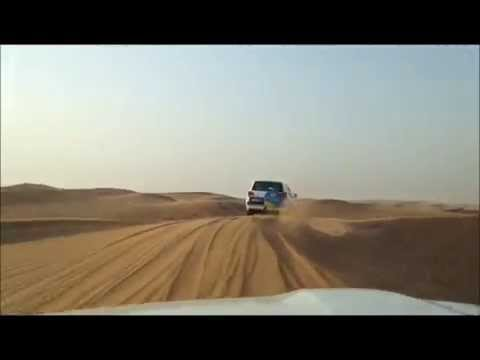 Dune Bashing in Desert Safari, Dubai United Arab Emirates (UAE)