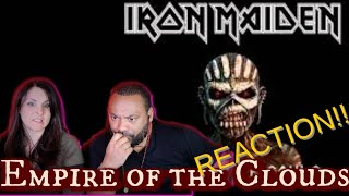 Iron Maiden-Empire of the Clouds Reaction!!!