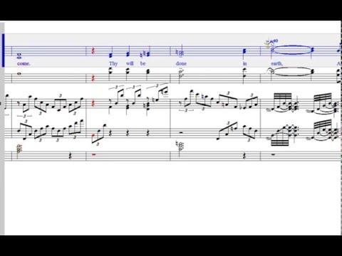 Soprano & Alto - The Lord's Prayer - A.H. Mallote