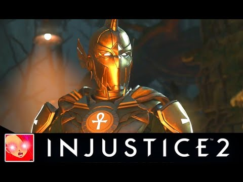 Injustice 2 - All Doctor Fate Savage Intro Dialogues