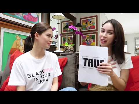 TRUE OR FALSE WITH JULIA BARRETTO ♥️ | Erich Gonzales