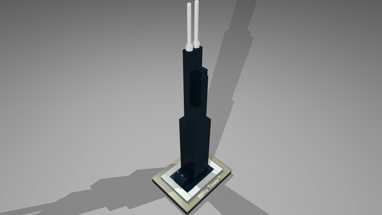 21000 Lego Architecture Willis Tower Youtube
