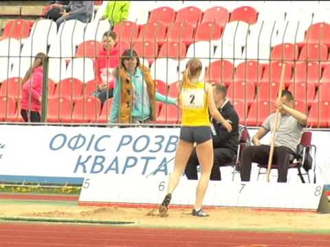 International U18 Athletics Match UKR-BLR-TUR. Огляд змагань (1 частина)