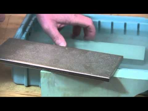 DMT Lapping Plate Presented by Woodcraft
