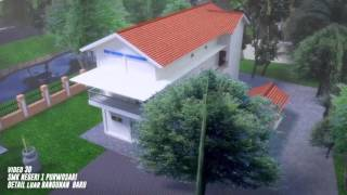 3D SMK NEGERI 1 PURWOSARI DETAIL LUAR BANGUNAN BARU - NEWTHINK