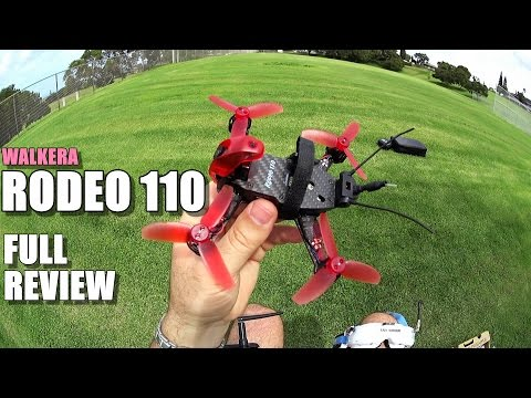 WALKERA RODEO 110 Review - [Unboxing / Inspection / Flight - CRASH Test / Pros & Cons]