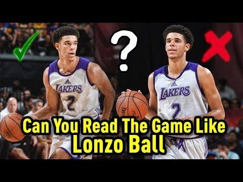Can You READ THE GAME Like LONZO BALL? | Interactive NBA Challenge