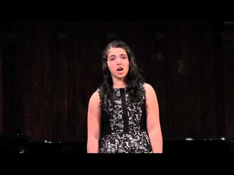 """Under the Greenwood Tree"", by Thomas Augustine Arne, Performed by Sheyda Shams"