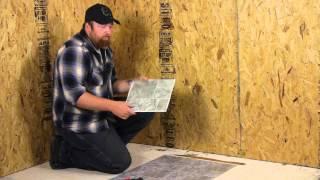 How To Lay Peel & Stick Vinyl On A Wood Floor : Flooring Help