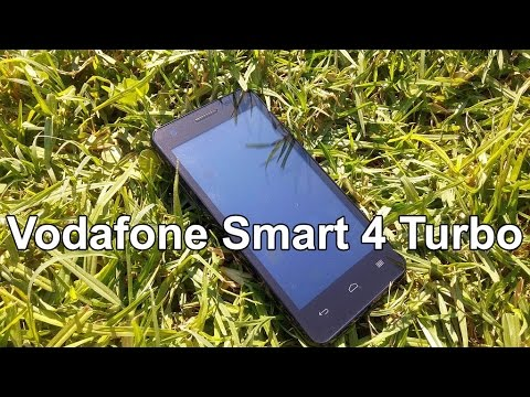 Vodafone Smart 4 Turbo Hands on Review