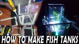 how to make fish tank - Multi Level Aquarium  aquarium ideas aquarium setup decoration