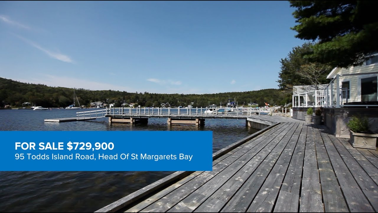 95 Todds Island Road, Head Of St Margarets Bay - YouTube